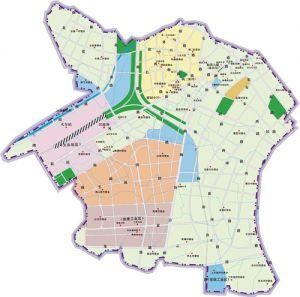 枫溪区行政区划图